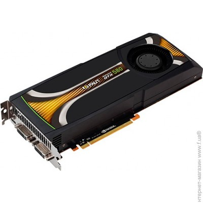 Palit PCI-E GeForce GTX580 1536Mb, 384bit, DDR5 (GeForce GTX 580 (1536MB GDDR5)/NE5X5800F09CB)