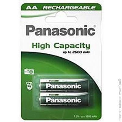 ����������� Panasonic RECHARGEABLE ACCU AA 2600 mAh BLI 2 NI-MH (HHR-3XRE/2B)