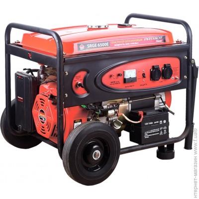 Генератор бензиновый patriot srge 6500 генератор