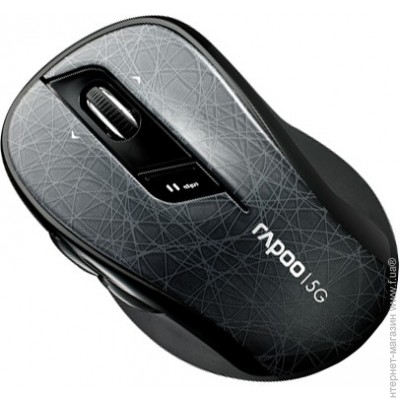 Rapoo Wireless Optical Mouse gray (7100p)
