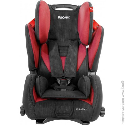 Recaro Young Sport cherry (6202.21210.66)