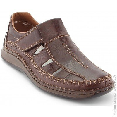 fbb131c52 ᐈ Мужская КОЖАНАЯ обувь Rieker — купить сандалии, туфли, мокасины ...
