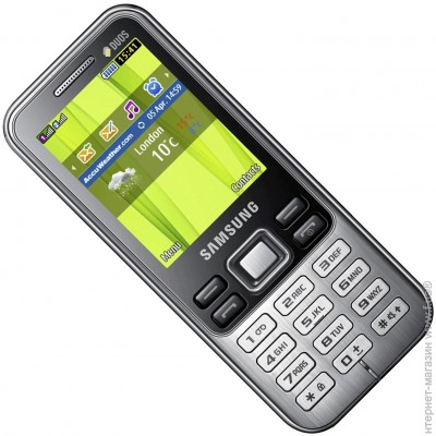 ������� Samsung C3322i Duos Deep Black