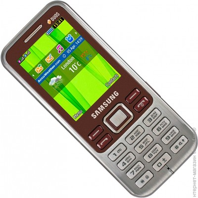 ������� Samsung C3322i Duos Wine Red