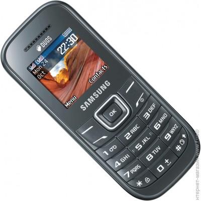 ������� Samsung E1202 Duos Dark Grey