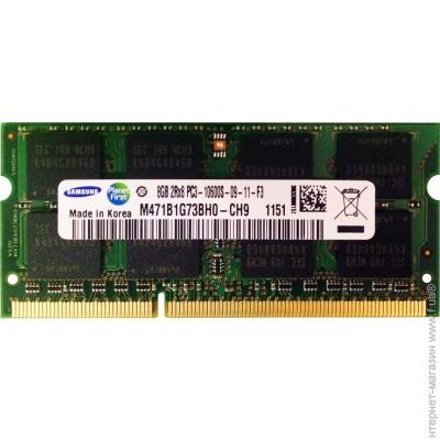 Samsung SODIMM DDR3 8Gb, 1333MHz, PC3-10600 (M471B1G73BH0-CH9)