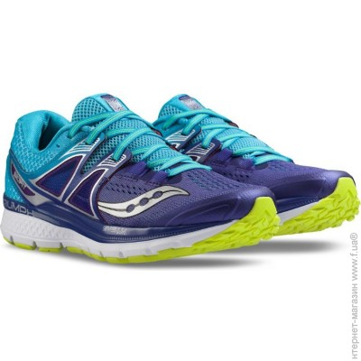 338957dd SAUCONY Triumph Iso 3, Кроссовки Saucony Triumph Iso 3 6,  purple/blue/citron (10346-1s