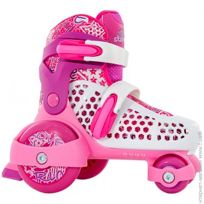 964c2d99a4f65a SFR Stomper Girls, Роликовые коньки SFR Stomper Girls 23-27, pink (344905)  цена