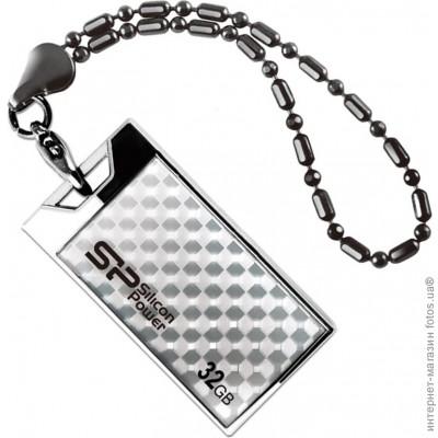 Флешка USB 2.0 <b>Silicon</b>-<b>Power Touch 851</b> 32GB Silver ...