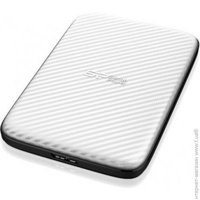 Silicon-Power USB 1000GB (SP010TBPHDD20S3W) Diamond D20, White