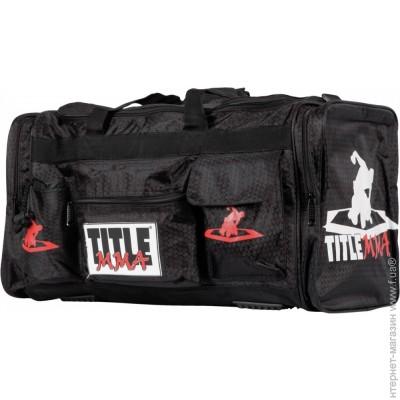 ec4ca3968360 ... Спортивная сумка Title Boxing MMA Deluxe Equipment Bag, черный  (MMBAG-4) цена