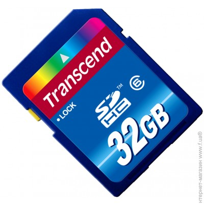 Transcend SDHC 32Gb Class 6 (TS32GSDHC6)