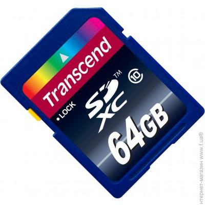 Transcend SDXC 64GB Class 10 (TS64GSDXC10)