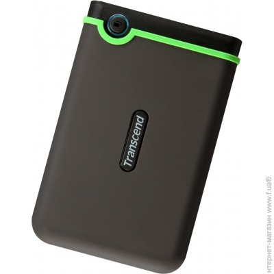 Transcend USB 500GB (TS500GSJ25M3) StoreJet 25M3 Black/Green