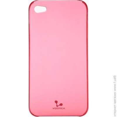 Voorca Smoky case for iPhone 4 Ruby-pink