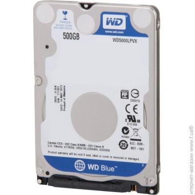 Western Digital SATA 500GB (WD5000LPVX) WD Blue