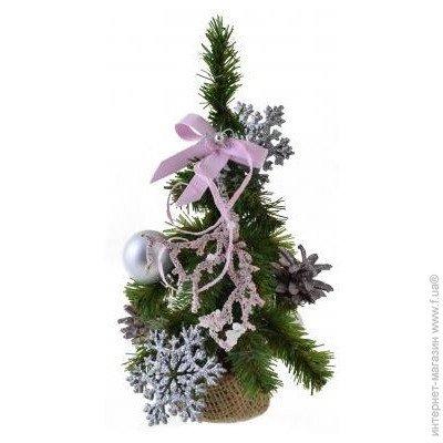 ᐈ YES! FUN Искусственная елка с украшениями Снежинка 0,25 ...