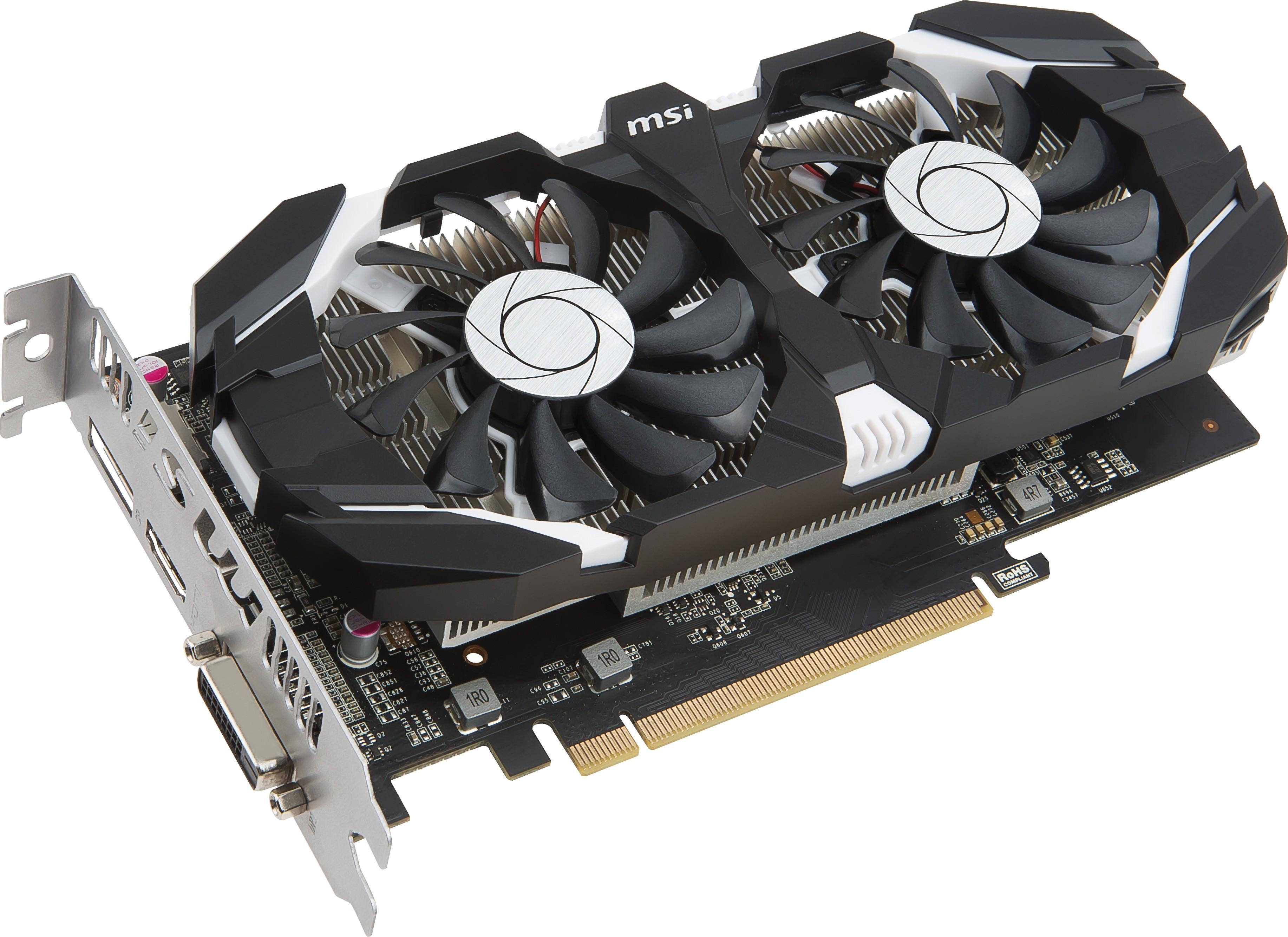 Видеокарта MSI GeForce GTX1050Ti 4GB 8717547130503