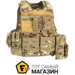 defcon 5 ������������ ����� Defcon 5 Body Armour Full Set, multicam (D5-BAV06 MC)