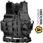 leapers ������������ ����� Leapers Law Enforcement Tactical Vest, black (PVC-V547BT)