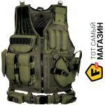 leapers ������������ ����� Leapers Law Enforcement Tactical Vest, green (PVC-V547GT)