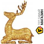 lednick Декорация Lednick Мечтающий олень 1,03 м, тепло-белый (008-B-ОЛЕНЬ-1,03м-WW)