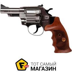 Пневматический Пистолет Alfa 431 4 мм никель/дерево (144943/9)
