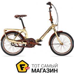 Велосипед Graziella Gold Edition 20 золотой/коричневый 13.5 (290002050)
