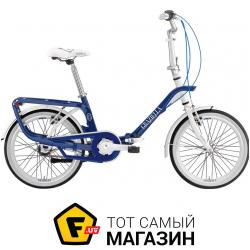 Велосипед Graziella Salvador 20 синий/белый 13.5 (13483B)