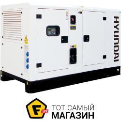 Электрогенератор Hyundai DHY45KSE + ATS