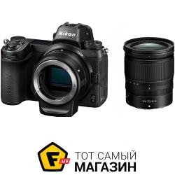 Фотоаппарат Nikon Z6 24-70mm f/4 Kit + FTZ Adapter (VOA020K003)