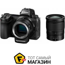 Фотоаппарат Nikon Z7 24-70mm f/4 Kit + FTZ Adapter