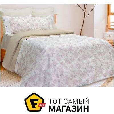 Комплект постельного белья Беларускілён Оранжерея евро сорт 1, 1/37 (17с433)