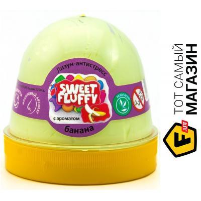 Окто Мяч-лизун Sweet fluffy Банан 120 мл 80111