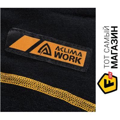 Термоштаны Aclima Work Warm Longs Black L, Black (424033001-06)
