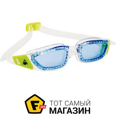 Очки для плавания Aqua Sphere Kameleon Jr transparent/green/blue (183510)