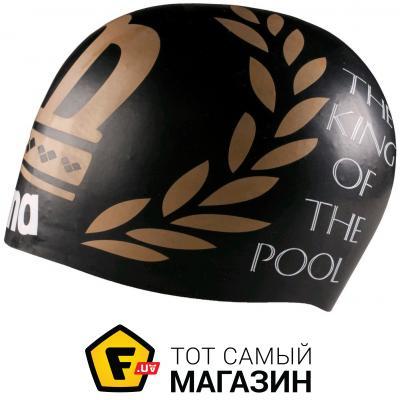Шапочка для плавания Arena Poolish Moulded black/king (1E774-503)