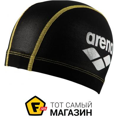 Шапочка для плавания Arena Power Mesh Cap yellow (1E765-35)