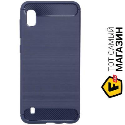 Чехол Becover Carbon Series for Samsung Galaxy A10 2019 SM-A105, Deep Blue (703525)