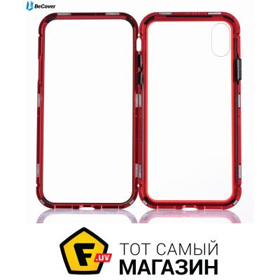 Чехол Becover Magnetite Hardware for Apple iPhone Xr, Red (702696)