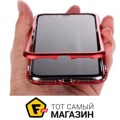 Чехол Becover Magnetite Hardware for Apple iPhone Xs, Red (702698)