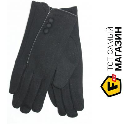 Перчатки Brand Style Перчатки женские черные трикотажные r8176s1 S