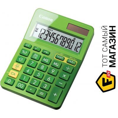 Калькулятор Canon LS-123K green