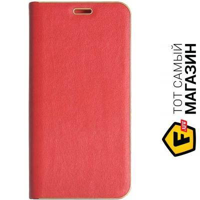 Чехол Florence Top №2 for Samsung Galaxy J4 2018 J400, leather red (RL052005)