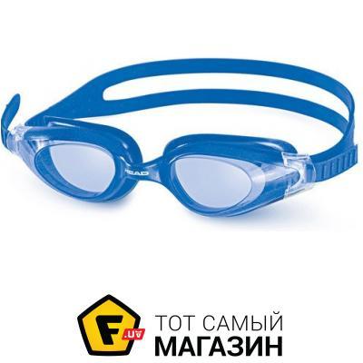 Очки для плавания Head Cyclone, Transparent/Blue (451014/CL.BL)