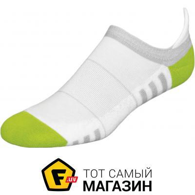 Носки Inmove Mini Fitness 39-41, white/green (mf.white/green.39–41)