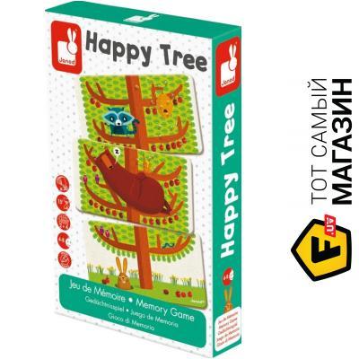 Настольная игра Janod Счастливое дерево (J02761)