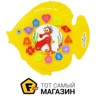 "Kinderway Игра-сортер-часы ""Рыбка"" (ассортимент) (40-001)"