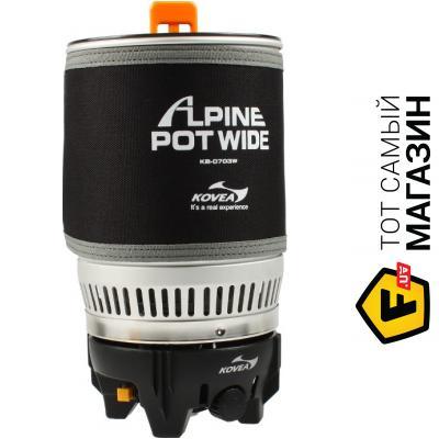 Туристическая горелка Kovea Alpine Pot Wide (KB-0703W)