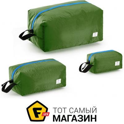 Чехол для одежды Naturehike Travel bag CA03 green, 3шт. (NH18S003-B)